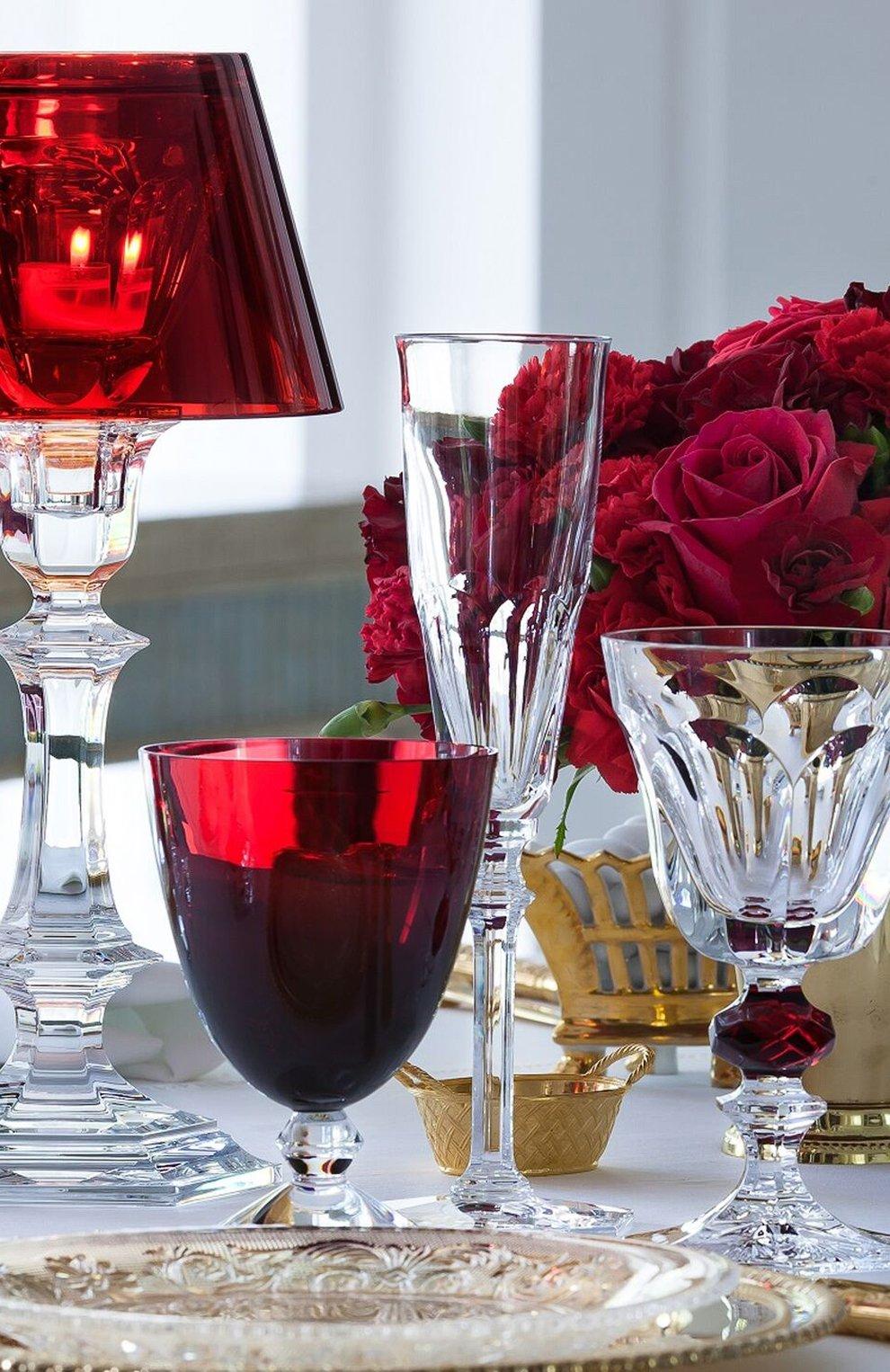 Мужского набор из 2-х бокалов на низкой ножке vega BACCARAT красного цвета, арт. 2 812 265 | Фото 2