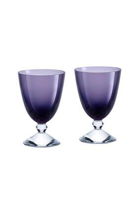 Набор из 2-х бокалов на низкой ножке vega BACCARAT фиолетового цвета, арт. 2 812 264 | Фото 1