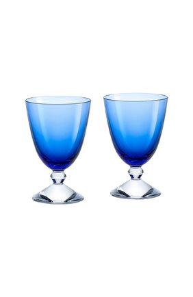 Набор из 2-х бокалов на низкой ножке vega BACCARAT голубого цвета, арт. 2 812 261 | Фото 1