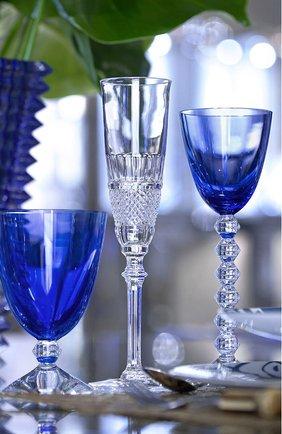 Набор из 2-х бокалов на низкой ножке vega BACCARAT голубого цвета, арт. 2 812 261 | Фото 2