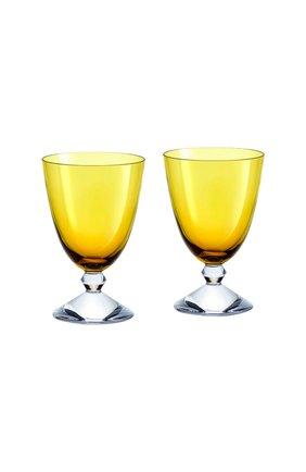 Набор из 2-х бокалов на низкой ножке vega BACCARAT желтого цвета, арт. 2 812 260 | Фото 1