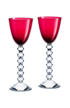 Мужского набор из 2-х бокалов vin du rhin vega BACCARAT красного цвета, арт. 2 812 270 | Фото 1