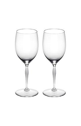 Мужского набор из 2-х бокалов для воды 100 points LALIQUE прозрачного цвета, арт. 10331600 | Фото 1