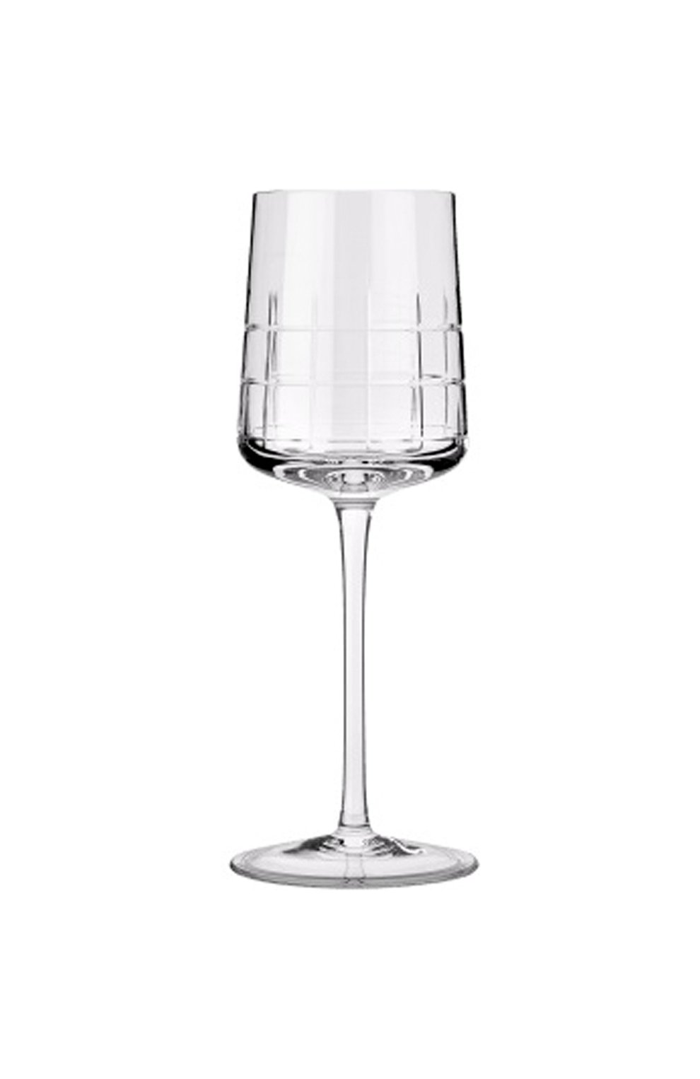 Мужского фужер для белого вина graphik CHRISTOFLE прозрачного цвета, арт. 07945003 | Фото 1