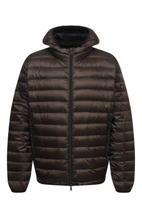 Мужская пуховая куртка PAUL&SHARK хаки цвета, арт. C0P2008/GTX/3XL-6XL | Фото 1