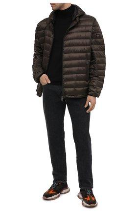 Мужская пуховая куртка PAUL&SHARK хаки цвета, арт. C0P2008/GTX/3XL-6XL | Фото 2