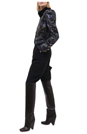 Женский жакет с пайетками ALESSANDRA RICH черного цвета, арт. FAB2280-F2890 | Фото 2