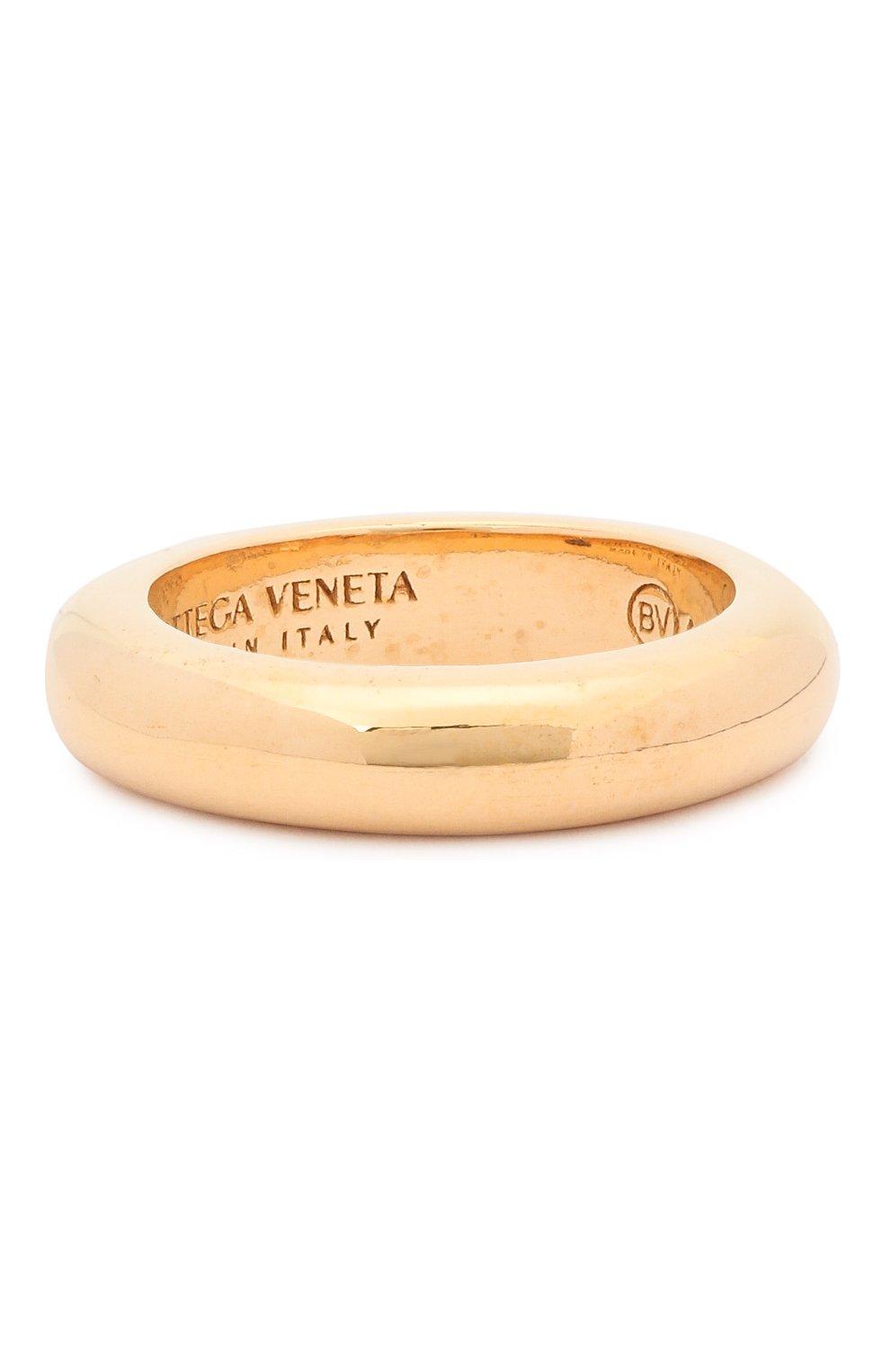 Женское набор из пяти колец BOTTEGA VENETA золотого цвета, арт. 637081/VAHU0 | Фото 6