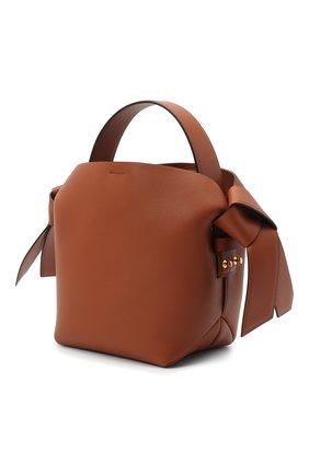 Женская сумка musubi mini ACNE STUDIOS коричневого цвета, арт. A10093   Фото 3