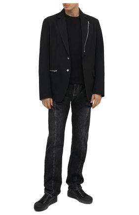 Мужская хлопковая футболка ISABEL MARANT черного цвета, арт. TS0433-20A039H/ZAFFERH | Фото 2