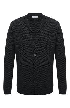 Мужской шерстяной пиджак GRAN SASSO темно-серого цвета, арт. 57177/14427   Фото 1