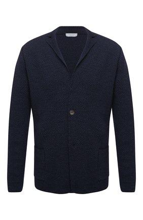 Мужской шерстяной пиджак GRAN SASSO синего цвета, арт. 57177/14427   Фото 1