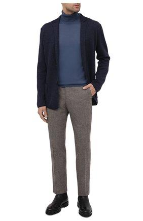 Мужской шерстяной пиджак GRAN SASSO синего цвета, арт. 57177/14427   Фото 2
