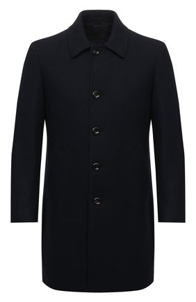 Мужской шерстяное пальто L.B.M. 1911 темно-синего цвета, арт. 7372/04306 | Фото 1