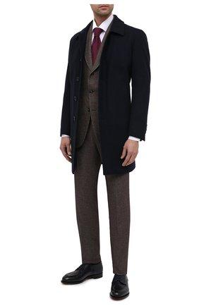 Мужской шерстяное пальто L.B.M. 1911 темно-синего цвета, арт. 7372/04306 | Фото 2