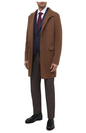 Мужской шерстяной пиджак L.B.M. 1911 темно-синего цвета, арт. 2411/02122   Фото 2