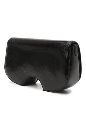 Женская сумка swiss flap OFF-WHITE черного цвета, арт. 0WNA141E20LEA0011000 | Фото 3
