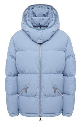 Женский пуховая куртка MONCLER голубого цвета, арт. F2-093-1A550-00-C0531 | Фото 1