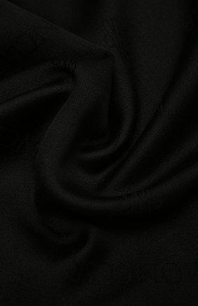 Мужские шарф из шерсти и шелка MONCLER черного цвета, арт. F2-093-3C714-00-A0149 | Фото 2