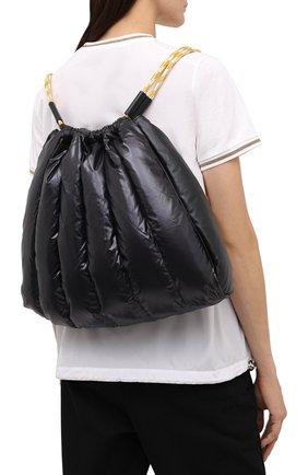 Женский рюкзак seashell MONCLER черного цвета, арт. F2-09B-5A501-10-02SK8 | Фото 2