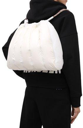 Женский рюкзак seashell MONCLER белого цвета, арт. F2-09B-5A501-10-02SK9 | Фото 2