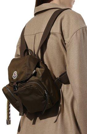 Женский рюкзак dauphine small MONCLER хаки цвета, арт. F2-09B-5A701-00-02SJK | Фото 2