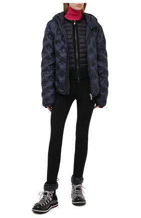 Женский пуховая куртка MONCLER GENIUS темно-синего цвета, арт. F2-09E-1A511-40-C0654   Фото 2