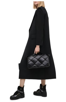 Женские кожаные ботинки trekkgirl VALENTINO черного цвета, арт. UW2S0Y97/KVN | Фото 2