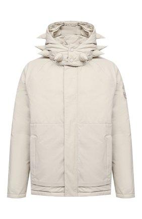 Женский пуховая куртка MONCLER GENIUS светло-бежевого цвета, арт. F2-09E-1B504-40-V0135 | Фото 1