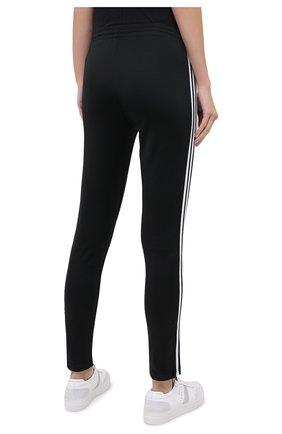 Женские брюки ADIDAS ORIGINALS черного цвета, арт. GD2361   Фото 4 (Женское Кросс-КТ: Брюки-спорт, Брюки-одежда; Длина (брюки, джинсы): Стандартные; Кросс-КТ: Спорт; Материал внешний: Синтетический материал, Хлопок; Силуэт Ж (брюки и джинсы): Узкие)