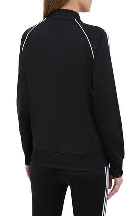 Женский толстовка ADIDAS ORIGINALS черного цвета, арт. GD2374 | Фото 4 (Рукава: Длинные; Женское Кросс-КТ: Толстовка-спорт, Кардиган-одежда; Кросс-КТ: Спорт; Материал внешний: Синтетический материал; Длина (для топов): Стандартные; Стили: Спорт-шик)