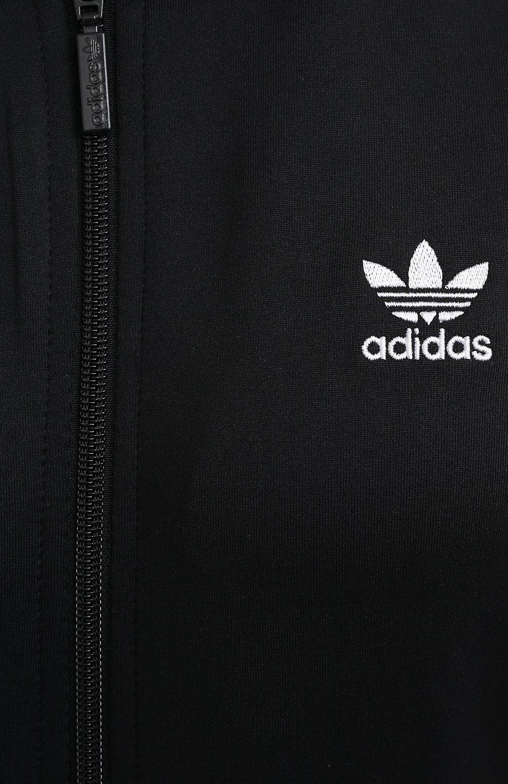 Женский толстовка ADIDAS ORIGINALS черного цвета, арт. GD2374 | Фото 5 (Рукава: Длинные; Женское Кросс-КТ: Толстовка-спорт, Кардиган-одежда; Кросс-КТ: Спорт; Материал внешний: Синтетический материал; Длина (для топов): Стандартные; Стили: Спорт-шик)