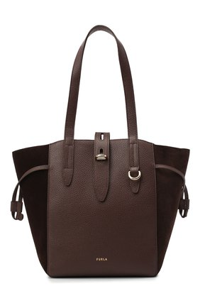 Женский сумка-тоут furla net FURLA коричневого цвета, арт. BZT0FUA/A.0011 | Фото 1