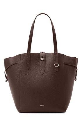 Женский сумка-тоут furla net FURLA коричневого цвета, арт. BZO5FUA/HSF000 | Фото 1