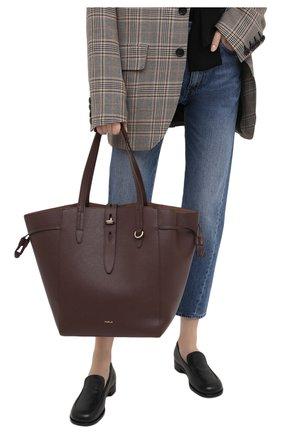Женский сумка-тоут furla net FURLA коричневого цвета, арт. BZO5FUA/HSF000 | Фото 2