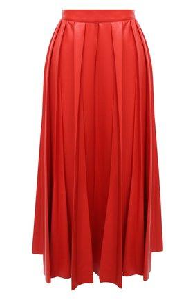 Женская юбка MSGM красного цвета, арт. 2941MDD29P 207652 | Фото 1