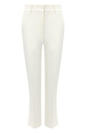 Женские брюки MSGM белого цвета, арт. 2941MDP02 207651 | Фото 1