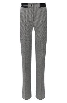 Женские брюки из вискозы и шерсти MSGM черно-белого цвета, арт. 2941MDP14 207518 | Фото 1
