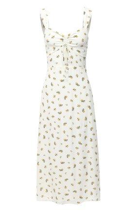 Женское платье из вискозы FAITHFULL THE BRAND белого цвета, арт. FF1585-CRF | Фото 1