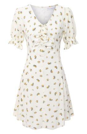 Женское платье из вискозы FAITHFULL THE BRAND белого цвета, арт. FF1577-CRF | Фото 1