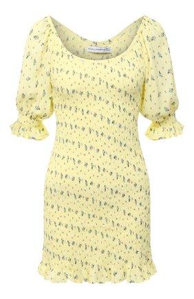 Женское платье из вискозы FAITHFULL THE BRAND желтого цвета, арт. FF1564-LSF | Фото 1