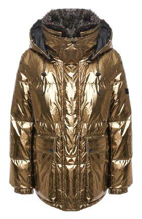 Женский двусторонняя пуховая куртка YS ARMY PARIS черного цвета, арт. 21WFV05170A11G/0LIV0/N0IR | Фото 1