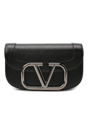 Женская сумка valentino garavani supervee VALENTINO черного цвета, арт. UW0B0G09/JHG | Фото 1