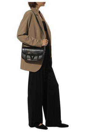 Женская сумка valentino garavani supervee VALENTINO черного цвета, арт. UW0B0G09/JHG | Фото 2