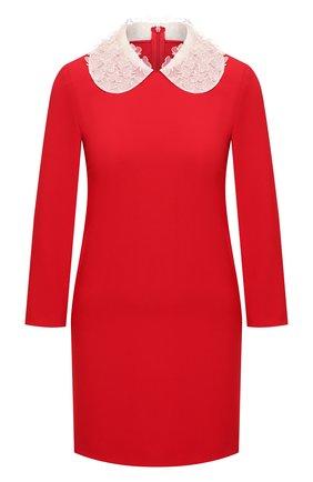 Женское платье REDVALENTINO красного цвета, арт. UR0VAV85/0VM | Фото 1