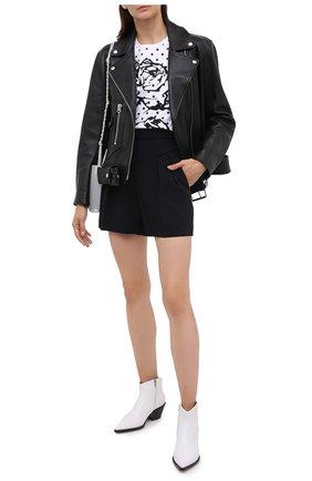 Женские шорты REDVALENTINO черного цвета, арт. UR0RFD80/2EU | Фото 2