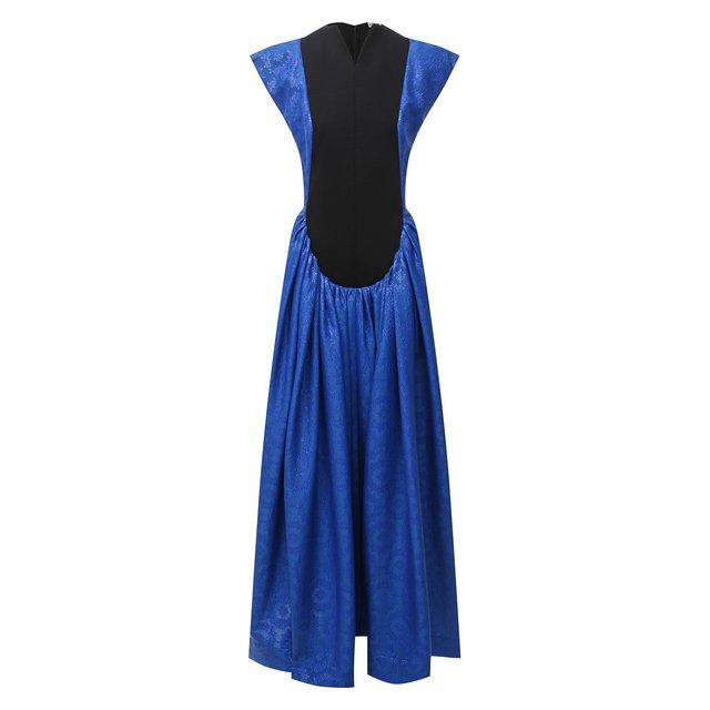 Платье из хлопка и шерсти Loewe