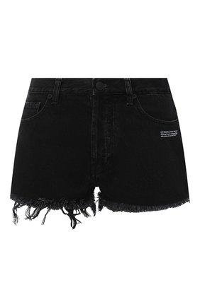Женские джинсовые шорты OFF-WHITE черного цвета, арт. 0WYC002E20DEN0011000 | Фото 1