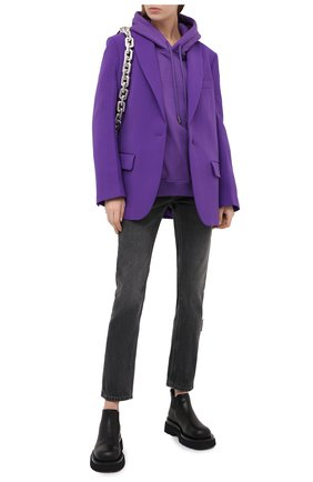 Женские джинсы OFF-WHITE серого цвета, арт. 0WYA019E20DEN0050600   Фото 2