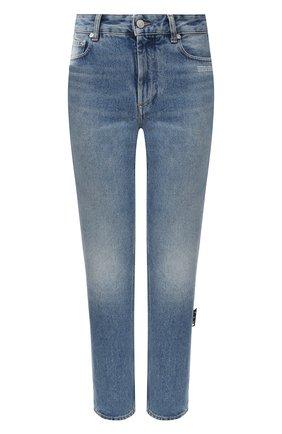Женские джинсы OFF-WHITE голубого цвета, арт. 0WYA019E20DEN0044000 | Фото 1